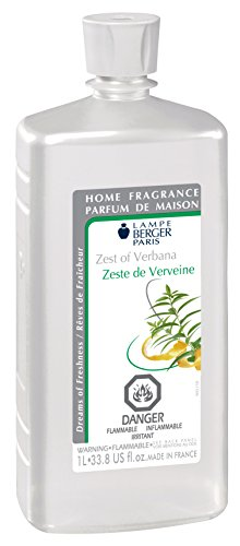 Lampe Berger Fragrance, 33.8 Fluid Ounce, Zest of Verbena