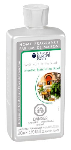 Lampe Berger Fragrance - Fresh Mint at the Riad , 500ml / 16.9 fl.oz.