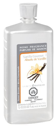 Lampe Berger Fragrance, 33.8 Fluid Ounce, Vanilla Gourmet