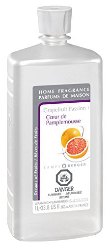 Lampe Berger Fragrance, 33.8 Fluid Ounce, Grapefruit Passion