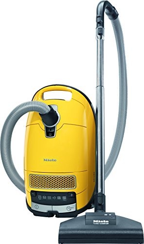 Miele New Complete C3 Calima Canister Vacuum, Canary Yellow