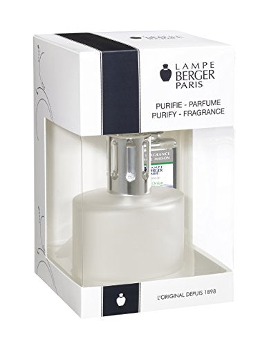 Lampe Berger Lamp Gift Set - Ovalie Frosted, Includes Fragrance Ocean Breeze 180ml / 6.08 fl.oz.