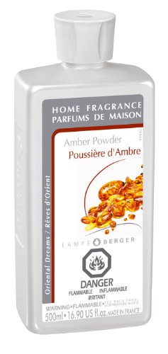 Lampe Berger Fragrance - Amber Powder , 500ml / 16.9 fl.oz.