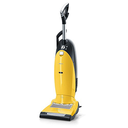 New Miele Dynamic U1 Jazz Upright Vacuum, Canary Yellow - Corded