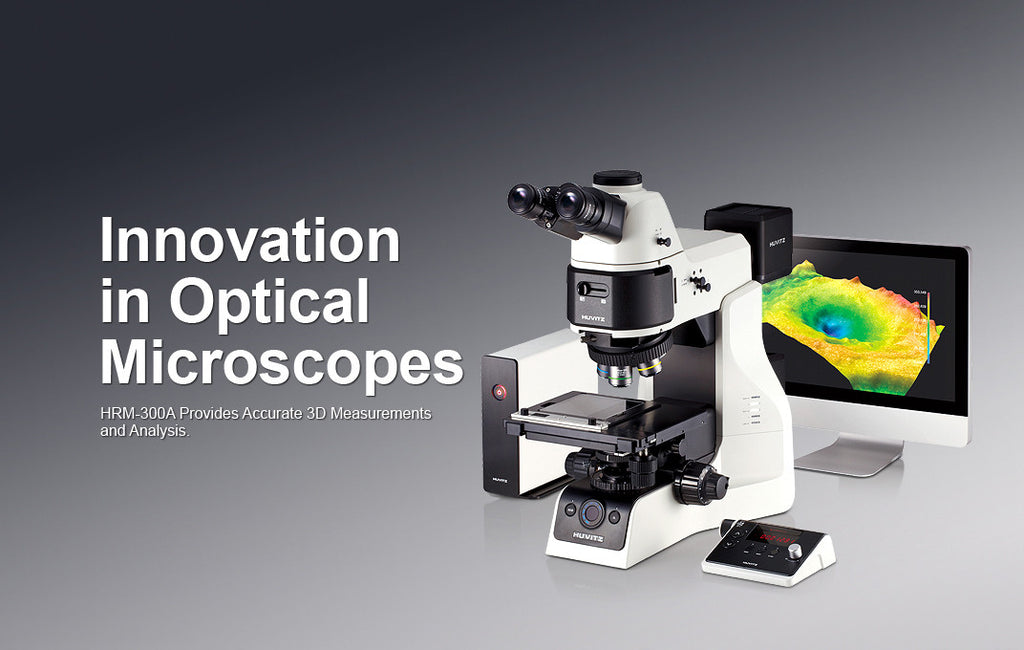 Advanced Inspection Microscope with 3D Profiler at 10nm resolution and output format to 3D printer