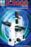 Meiji Techno TC-5100 / 5200 Inverted Biological Microscope (Japan)