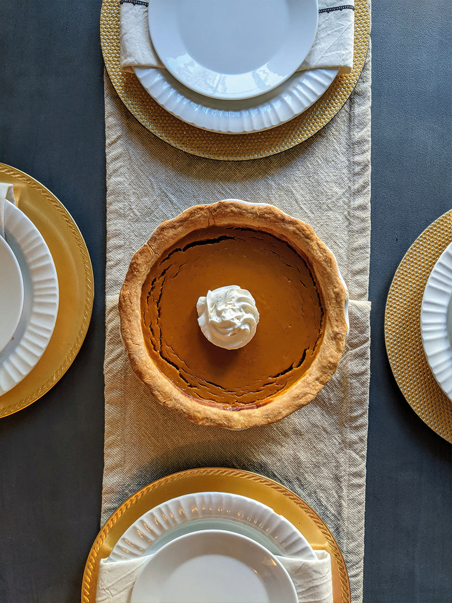 Bourbon Maple Syrup Pumpkin Pie