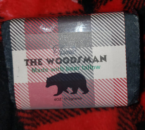 The woodsman bear tallow soap