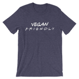 Vegan Friendly - Unisex T-shirt (White Ink)