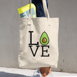 Love Avocado - Cotton Tote Bag