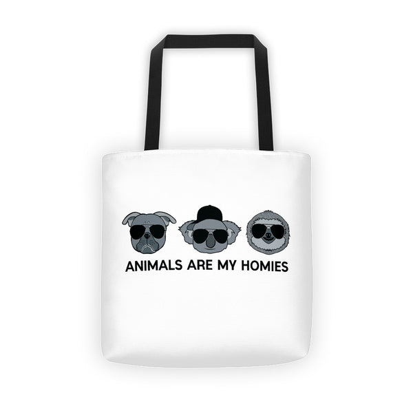 Animals are My Homies - Tote bag
