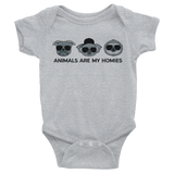 Animals are My Homies - Infant Bodysuit