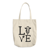 Love Cows - Cotton Tote Bag