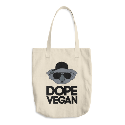 Dope Vegan - Cotton Tote Bag