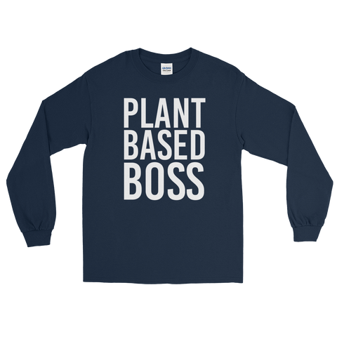 Plant Based Boss - Long Sleeve T-shirt