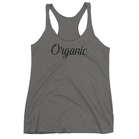 Organic - Women's Tank Top (black ink)