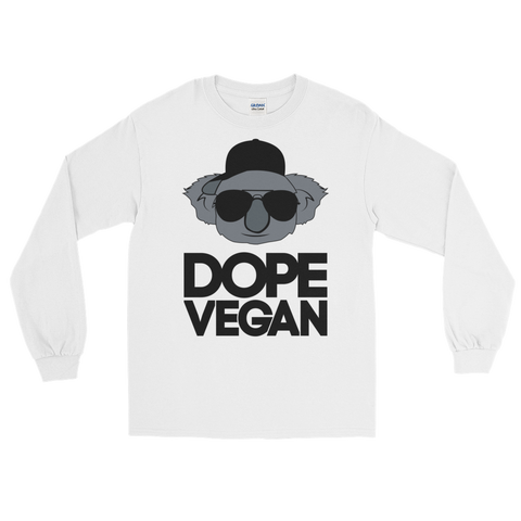 Dope Vegan - Long Sleeve T-Shirt