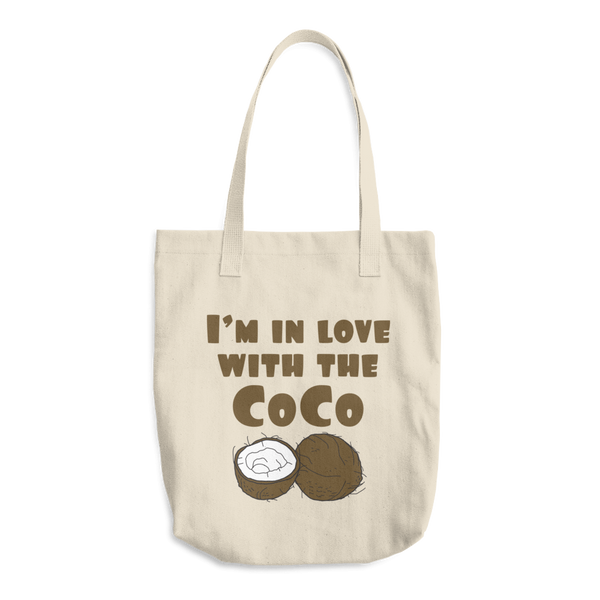 I'm in Love With the Coco - Cotton Tote Bag