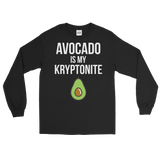 Avocado Is My Kryptonite - Long Sleeve T-Shirt