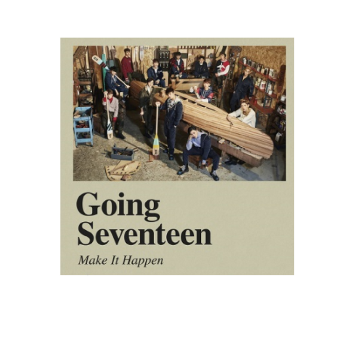 "Seventeen - ""Going Seventeen"" Album - Make It Happen Ver."