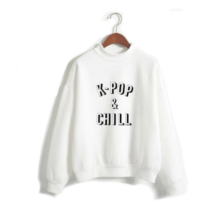 "Just ""K-Pop & Chill"" Sweatshirt"