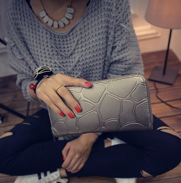 Leather Clutch (6 Colors)