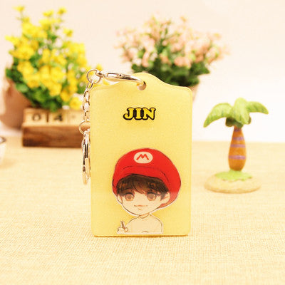 BTS  KeyChain/Card Holder (10 Designs)