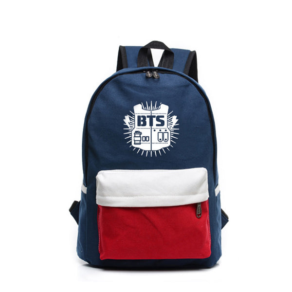 BTS - Canvas Backpack (Classic Logo)