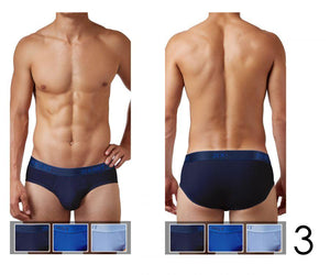 2(X)IST 3102030303 Cotton 3PK Contour Pouch Briefs
