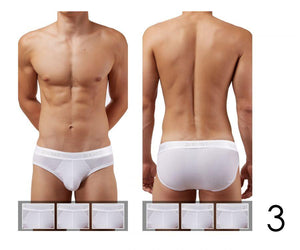 2(X)IST 3102032003 Cotton 3PK No-Show Briefs