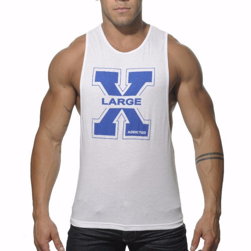 "ADDICTED AD186 Low Rider ""XL"" Tanktop - White"