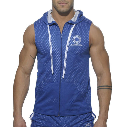 ADDICTED AD210 Sleeveless Air-Mesh Hoody