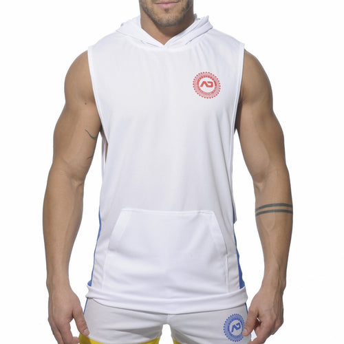 ADDICTED AD231 Sleeveless Running Hoody