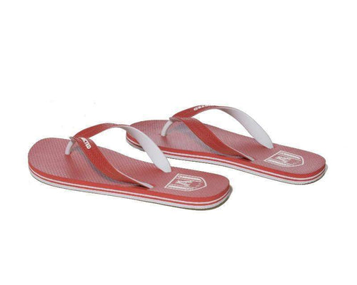 ADDICTED AFF01 Two Tone Flip Flops - Red