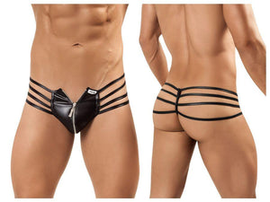 CandyMan 99140 All Zipped Up Thong