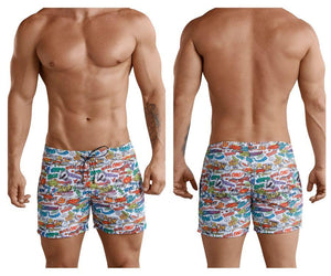 Clever 0673 Okidoky Atleta Swim Trunks