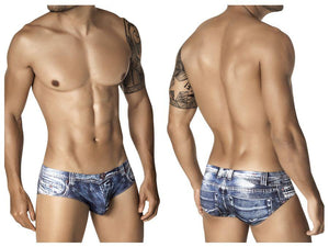 Clever 5200 Indigo Jean Latin Brief