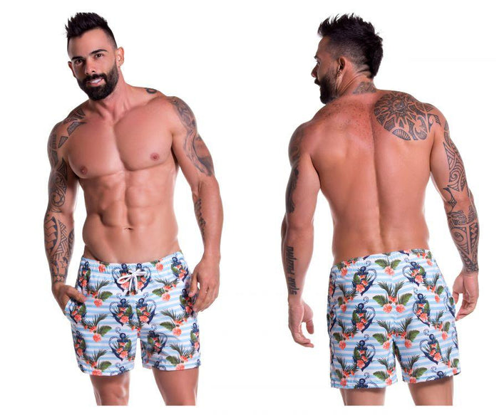 JOR 0780 Aqua Short Swim Trunks