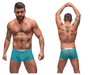 Male Power 145-252 Mesh Rib Mini Short