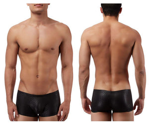 Male Power 145176 Black Cobra Mini Short Boxer Briefs