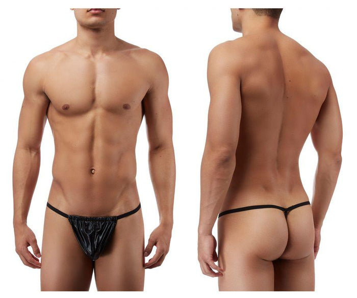 Male Power 450003 Liquid Onyx Posing Strap Thong