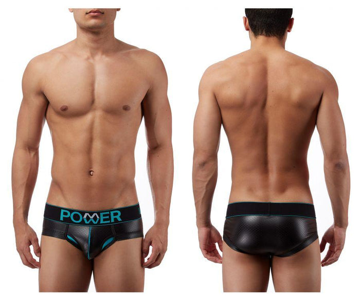 Male Power 481233 Lazer Mesh Bikini Brief