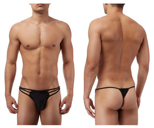 Male Power PAK828 G-Thong with Straps and Rings
