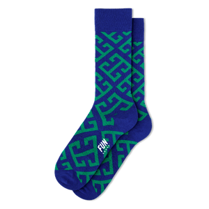 Key Geo Socks - Cotton Crew