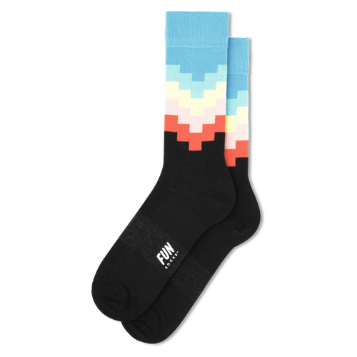 Step Stripe Socks - Cotton Crew