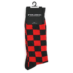 Men's Checkered Feraricci Sock