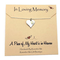 Petite and Simple Remembrance Necklaces