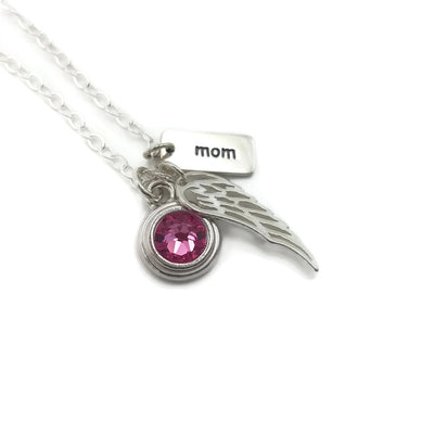 Loss of Mom - Memorial Jewelry for Loss of Mother - Remember Me Gifts