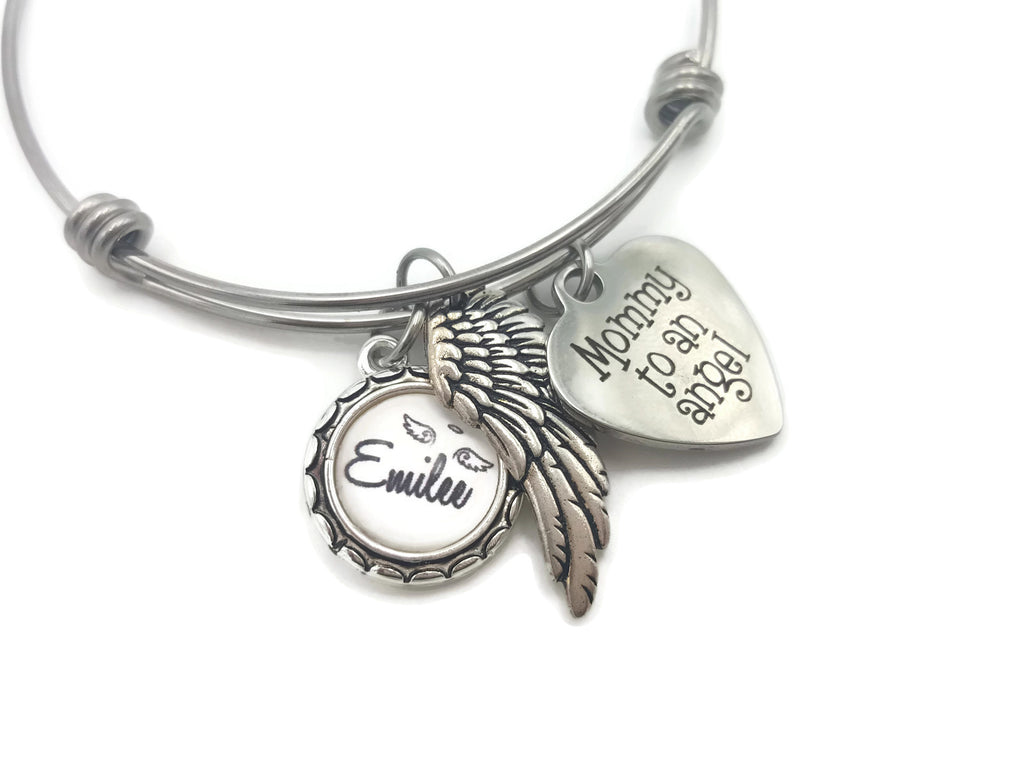 Memorial Jewelry - Remembrance Bracelet - Memorial Gift for Loss of Baby, Infant Loss - Remember Me