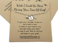 Personalized Memorial Jewelry - Funeral Memorial Gifts - Remember Me